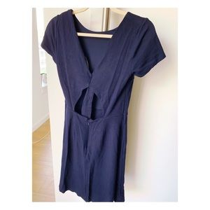 LOFT Navy Summer Dress